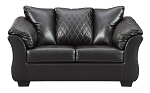 Alastair Loveseat in Black