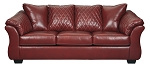 Alastair Sofa in Red