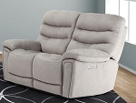 Forestman Full Power and Lumbar Support Loveseat Recliner