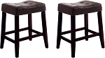 2787 Espresso Counter Stool - Pack of 2
