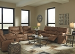 Avalon  Power Recling Sofa and Manual Console Love Seat