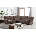 Andrea Power Reclining 6 Pc Sectional