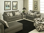 Byers Sofa and Loveseat