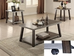 Gregory 3 Pc Table Set