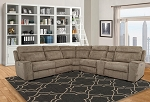 Hugh 6 Pc Full Power Reclining Sectional