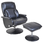 Landing Swivel Recliner with Ottoman