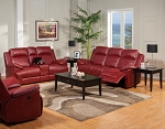 Mcgrath Reclining Sofa and Loveseat with Rocker
