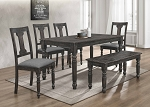 Marcela 6 Pc Dining Set