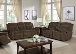 Russell Dual Reclining Sofa and Loveseat