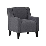 Alisa Grey Accent Chair