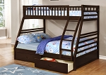 Annisa Twin/ Full Bunkbed