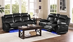 Artesia Power Sofa and Loveseat