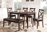 Bangor 6 Pc Dining Set