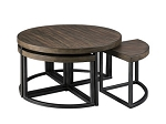 Bannon Coffee Table W/ Stools