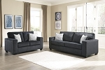 Barell Sofa and Loveseat