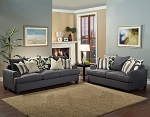 Bellflower Sofa and Loveseat