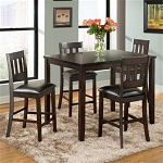 Brett 5 Pc Counter Height Dinette