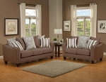 Bridget Sofa and Loveseat