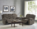 Chloe Reclining Sofa and Loveseat