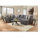Dunton 2 Pc Sectional with Chaise