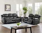 Enzo Reclining Sofa and Loveseat