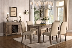 Lumineer 7 Pc Dining Set