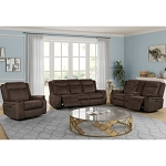 Lunas Reclining Sofa and Loveseat
