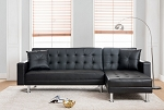 Olea 2Pc Futon Sectional