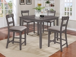 Perry 5 Pc Counter Height Set