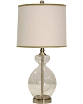 L25414 Clear Table Lamp