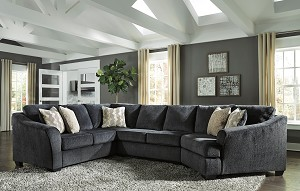 Easton 3 Pc Sectional