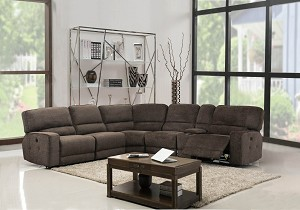 Marxen 6 Pc Reclining Sectional