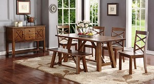 Pernel 6 Pc Dining Set