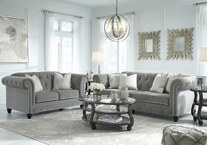 Rue Sofa and Loveseat