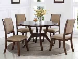 Coffey 5 Pc Round Dining Set
