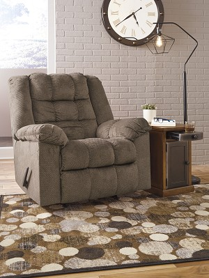 Cristof Rocker Recliner with Heat & Massage