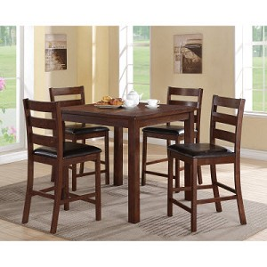 Darcy 5 Pc Counter Height Set