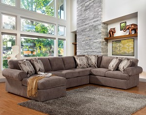 Laurentia 3 Pc Sectional
