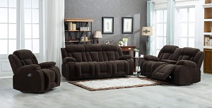 Marty Sofa and Loveseat Recliner Set